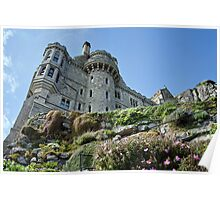 Commanding View ~ St Michael's Mount Poster