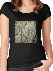 the fog Women's Fitted Scoop T-Shirt