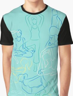 Morning Yoga Graphic T-Shirt
