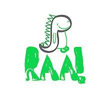 Raa Dinosaur Photographic Print