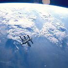 ISS Floating over the Earth by Patrick  Vedlog
