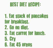 Best Diet Recipe Kids Tee