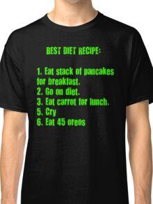 Best Diet Recipe Classic T-Shirt