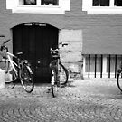 Bikes, windows, doors... by Manuel Gonçalves