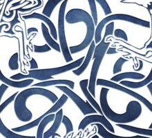 Raven Triskele Celtic Knotwork Sticker