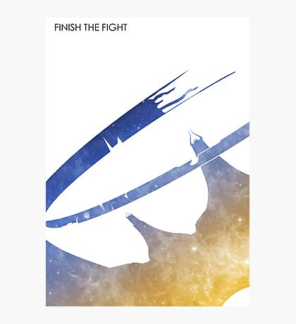 Finish the Fight Photographic Print