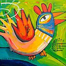 Clucky morning by ART PRINTS ONLINE         by artist SARA  CATENA