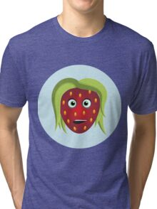 Strawberry Girl Tri-blend T-Shirt