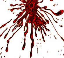 Blood & Bullet wounds Sticker