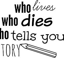 who lives who dies who tells your story by funhomies