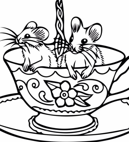 Two for Tea Sticker