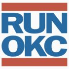 Run OKC Basketball Shirt by 785Tees