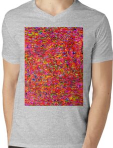1251 Abstract Thought Mens V-Neck T-Shirt