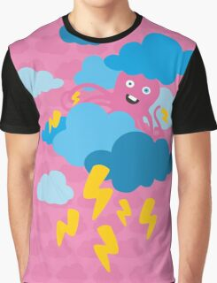 Who Makes the Thunder? - in PINK Graphic T-Shirt