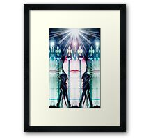 The three faces of Mary Framed Print