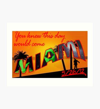 Miami - Zombie Apocalypse? Art Print