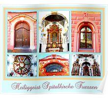 Heiliggeist Spitalkirche Fuessen Poster