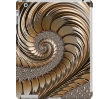 Bronze Scrolls Abstract iPad Case/Skin