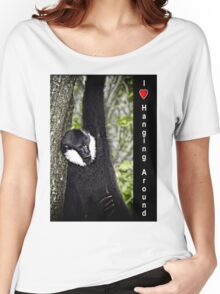I Love Hanging Around Women's Relaxed Fit T-Shirt