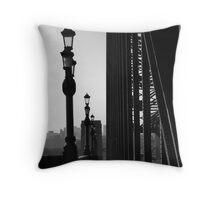 Walk Over The Tyne Throw Pillow