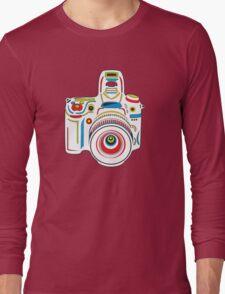 Rainbow Camera Fun Long Sleeve T-Shirt