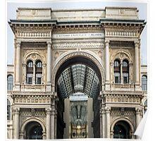 Galleria Vittorio Emanuele, Milano Poster