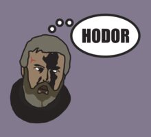 Game of Thrones: Hodor by D4RK0