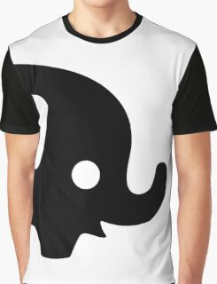 Baby Elephant - black Graphic T-Shirt