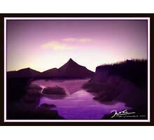 Lake side view Photographic Print