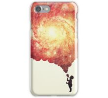 The universe in a soap-bubble! (Awesome Space / Nebula / Galaxy Negative Space Artwork) iPhone Case/Skin