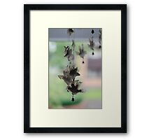 Hanging Charms Framed Print