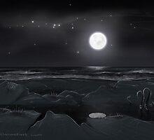 Midnight light by LABINNAK