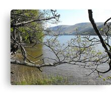 Loch Ness from the south bank Canvas Print