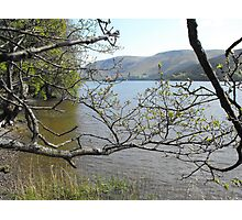 Loch Ness from the south bank Photographic Print