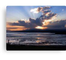 Fundy Sunset Canvas Print