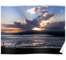 Fundy Sunset Poster