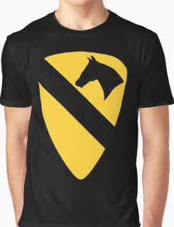 1st Cavalry Division Graphic T-Shirt