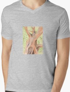 Cinnamon Tree  Mens V-Neck T-Shirt