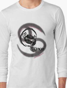 Cancer Zodiac Long Sleeve T-Shirt