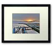 Leaving Hull Framed Print