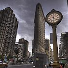 New York City - Flat Iron Clock by InvisibleClown