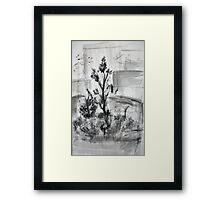 Ink Landscape  Framed Print