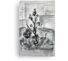 Ink Landscape  Canvas Print