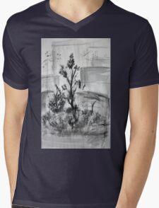 Ink Landscape  Mens V-Neck T-Shirt