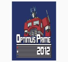 Optimus for President!  by antennaeLLC