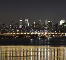 City Bridge at Night by InvisibleClown