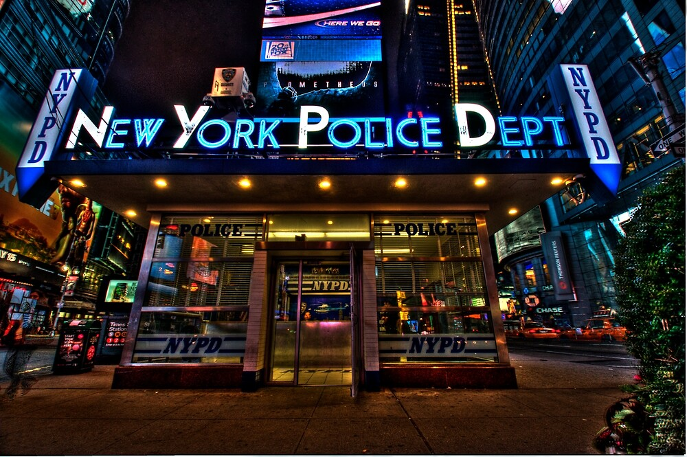 New York City Police Department by InvisibleClown
