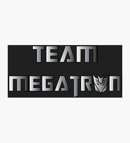 Team Megatron (metal) Photographic Print