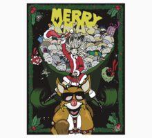 Merry Xmas One Piece - Short Sleeve