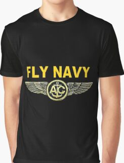 Navy Aircrew Wings for Dark Colors Graphic T-Shirt